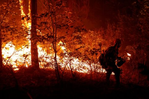 Dixie Fire rages in California